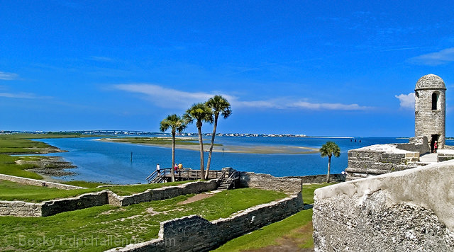 View from Castillo de San Marcos