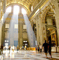 Natural Light at The Vatican Church