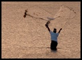 casting his net