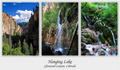 Hanging Lake Triptych