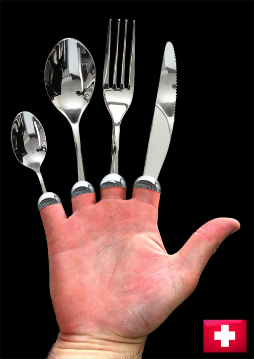 Swiss Army Hand. Your culinary friend.