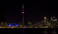Toronto ON Canada by night