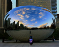 Late Fall Sunset at Cloud Gate
