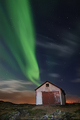 Living in an Old Shack on an Arctic Island Shooting Aurora