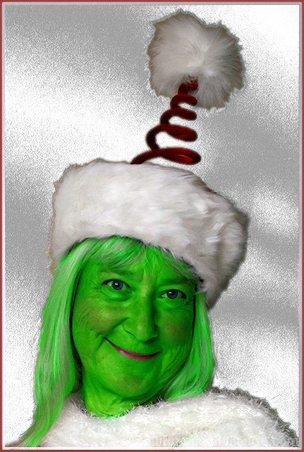 Mrs. Grinch's Christmas Card