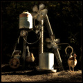 Wind-Powered Automatic Chicken Feeder