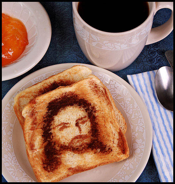 Jesus with a side of marmalade