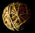 Elastic Band Boredom Ball of Beauty!!