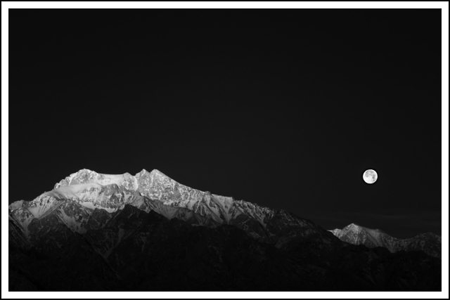 The Moon and The Mountain