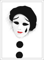 Pierrot, the clown