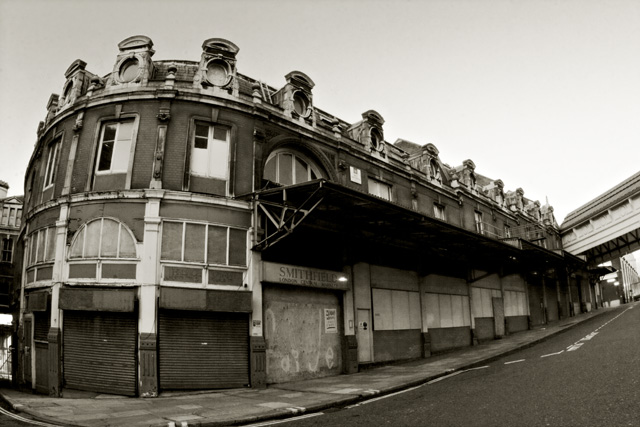 The Old Smithfields Meat Market