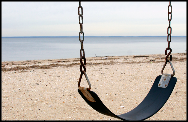 A Swing by the Shore