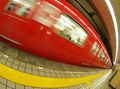 Red Subway in Nippon