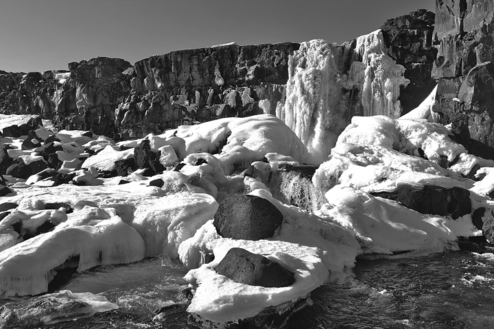 It´s March inThingvellir