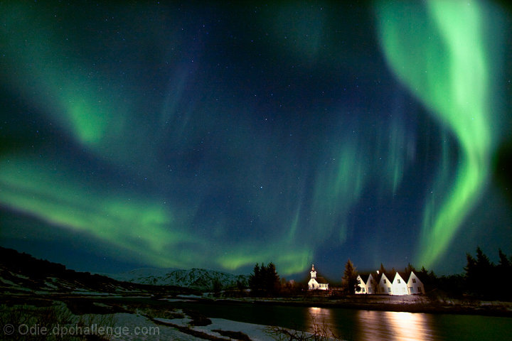 Yet another aurora borealis