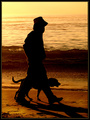"""Dog 'N Man Contre-jour"""