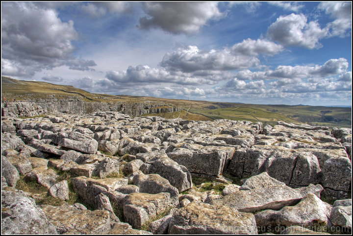 Limestone Pavement of Malham Cove