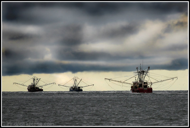 Clearing Skies Offer Hope To The Fleet Of Fishermen