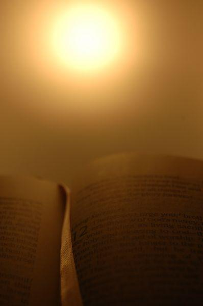 There's a light up ahead