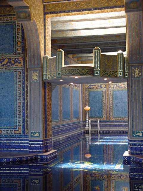 Diving Platform in Hearst Castle