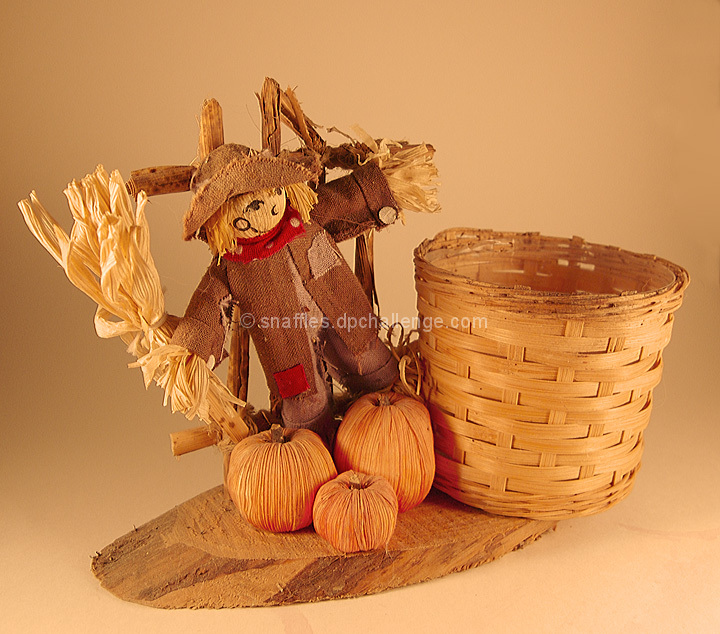 Rustic fall planter, small