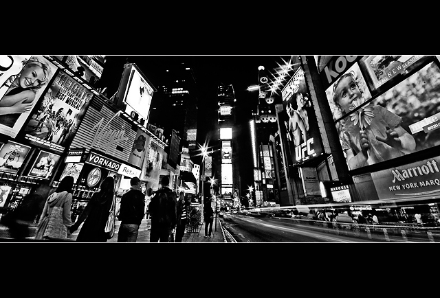 City Lights  :  Times Square