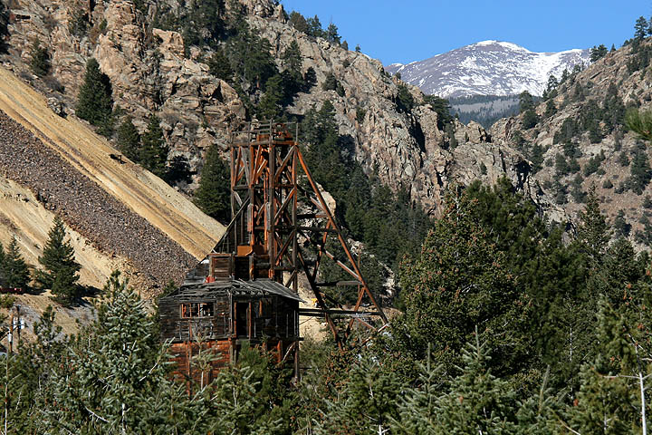 Abandoned gold mine in the Rocky Mountains. by jimsapp ...
