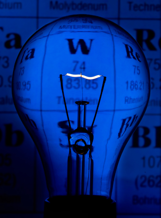 Tungsten: Lighting Up the Periodic Table!