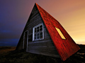 Red Roofed Hut