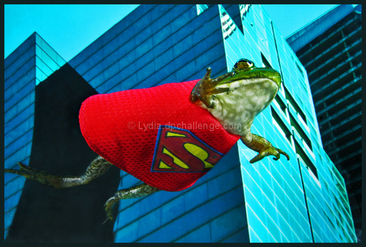 Superfrog:  Able to leap tall buildings in a single bound
