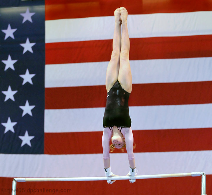 "Uneven ""Bars and Stripes """