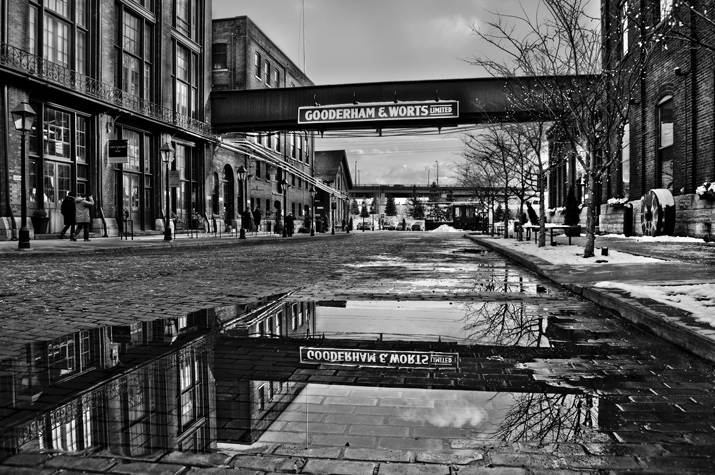 Historic Distillery District - February