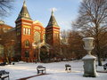 Smithsonian in the Snow