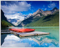 Lake Louise Canoes
