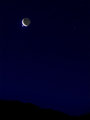Occultation: Venus & Moon