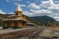 Train station Crawford Notch NH.