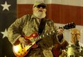 Charlie Daniels Band playing in Duststorm in Iraq