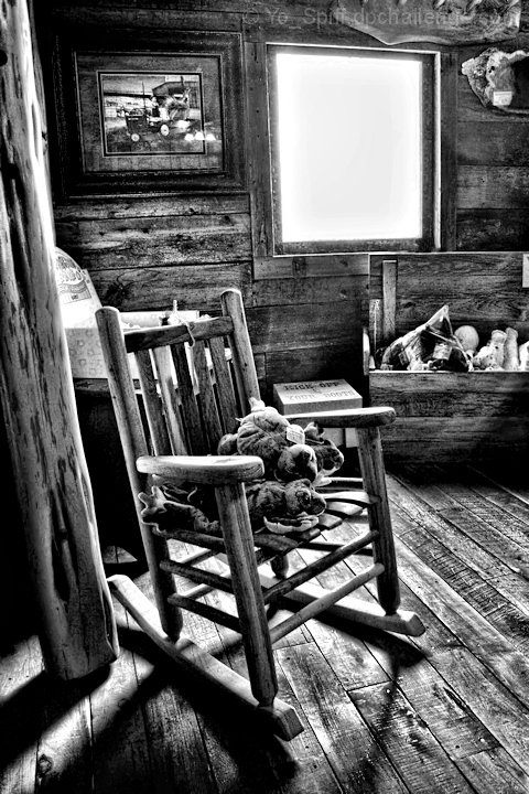 The little chair in the attic
