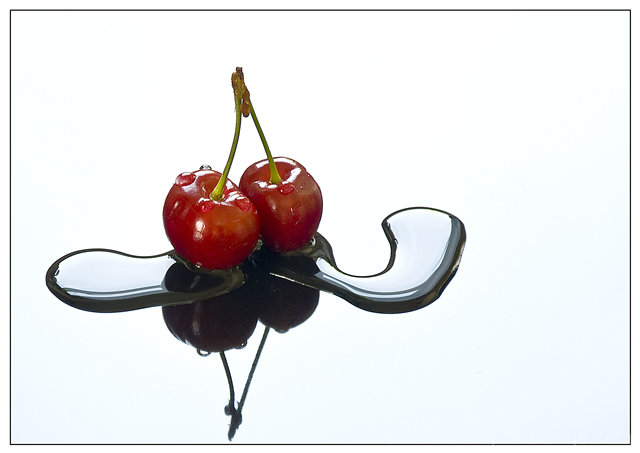 Cherries with Water