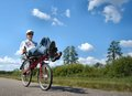 touring on a recumbent