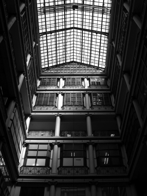 Above the Atrium