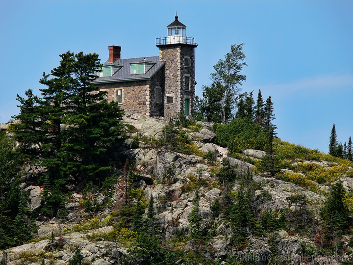 Huron Island Lighthouse (built 1868)