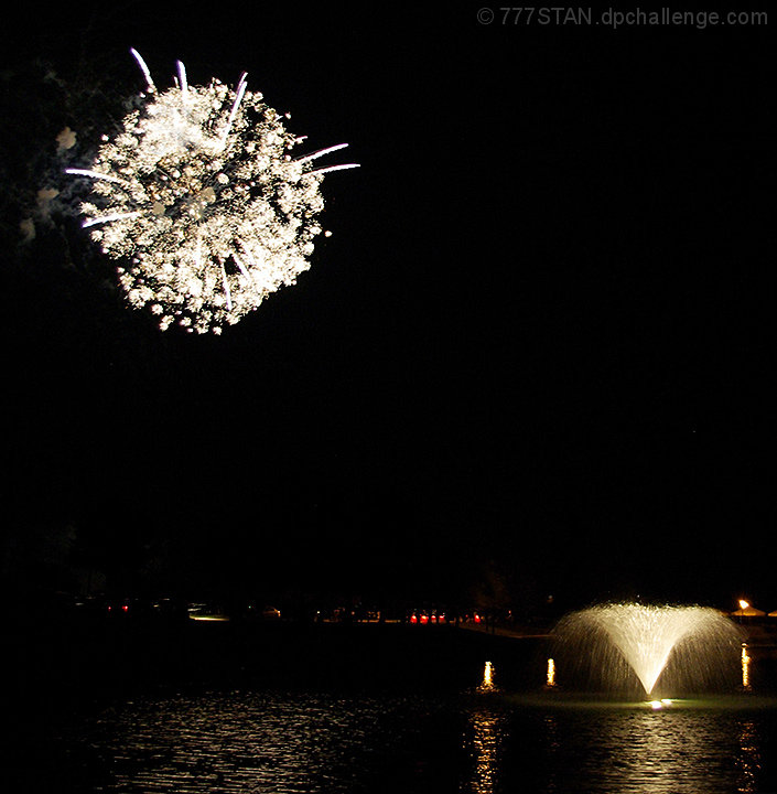"Fireworks, 2009:  ""Like Some Diamonds in the Sky..."""