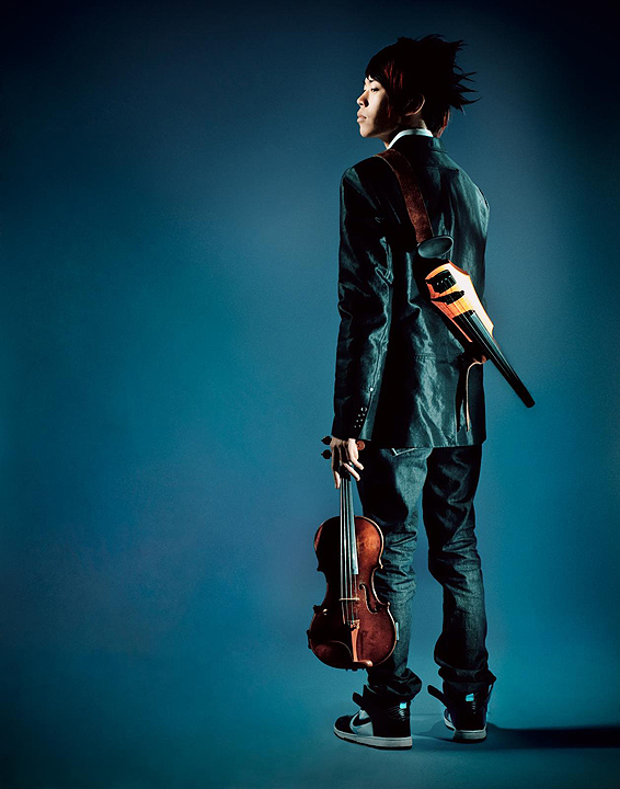Portrait of a Modern Violinist