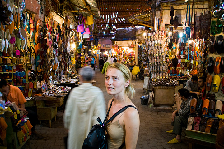 Dazzled in the Souks