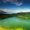 Crater of Taal Volcano