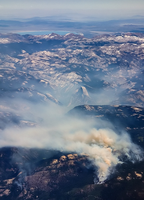 Forest Fire near Yosemite