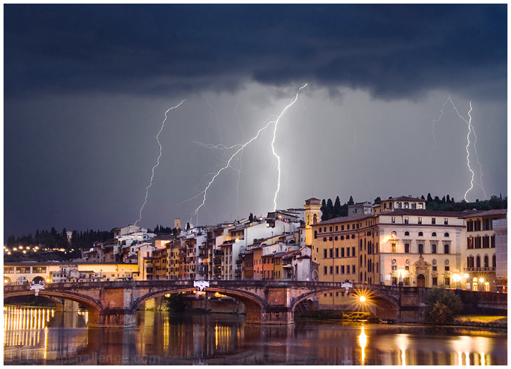 Storm over Florence