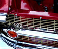 Straight Lines on Vintage Car Grill