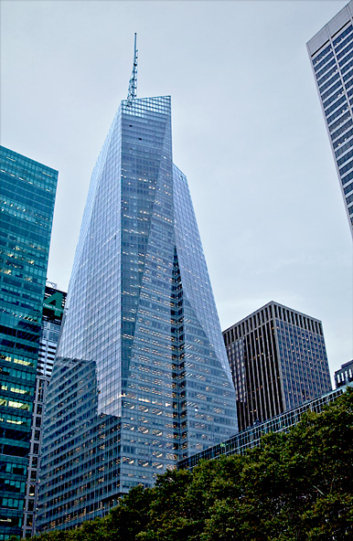 Splendiferous, 1,200  foot Sustainable Tower at One Bryant Park
